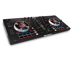 Numark Mixtrack Platinum DJ | 4-channel DJ Controller With  4-deck Layering and Hi-Res Display for Serato DJ http://ift.tt/2iVbZzs