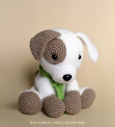 Jack is the sweetest little puppy, waiting for you to come home and play with him! Jack the pup by Hello Yellow Yarn: http://ift.tt/2n3TfQs