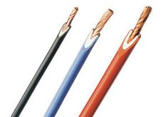 These UL style hook-up wires are insulated with semi rigid PVC. Visit us at http://products.conwire.com/viewitems/e-1061-vw-1-80-176-c-300-volts-csa-sr-pvc-ft1-wi-2/e-1061-vw-1-80-176-c-300-volts-csa-sr-pvc-ft1-wire for more information about these hook-up wires.