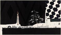 Artist: Ernesto Caivano, Title: The Skin and The Screen (Fabric landscape), 2009 - click to close window