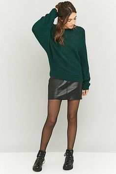 Urban Outfitters Knitted Batwing Jumper
