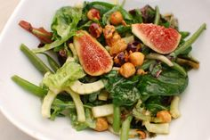 Green Beans and Figs with Hazelnut Dressing by Joyce Goldstein | CUESA