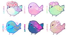 This is so cute it making excited because I am getting 4 new birds from my mom's bestie Kawaii Doodles, Cute Doodles, Kawaii Art, Creature Drawings, Bird Drawings, Cute Drawings, Cute Animal Drawings Kawaii, Cute Kawaii Animals, Cute Creatures