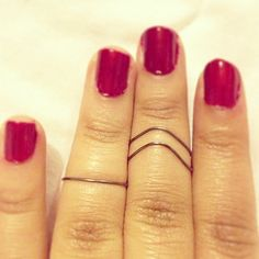 knuckle rings by deathdiscolovesyou on Etsy, $6.00