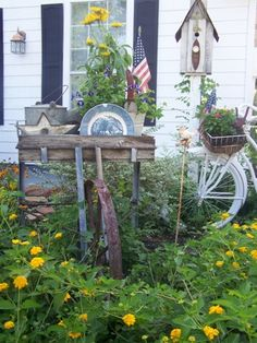 Kathy's garden (pinned from Cherry Hill Cottage)