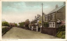 Snettisham. Station Road by Mrs A.E.Brown, Station Road, S~. ? Post Office. | eBay