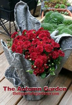 The Autumn Garden - The Hypertufa Gardener