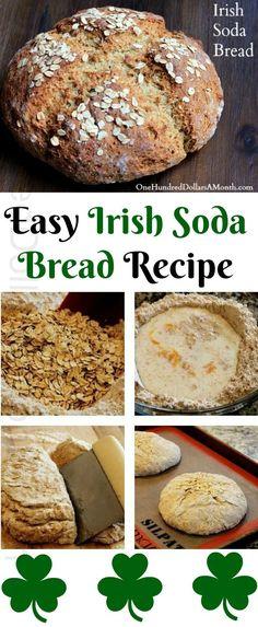 Irish Desserts, Irish Recipes, Irish Soda Bread Recipes, Cod Recipes, Noodle Recipes, Bean Recipes, Turkey Recipes, Recipes Dinner, Potato Recipes