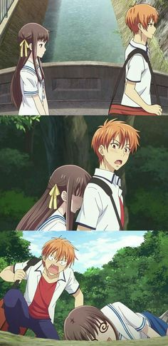 Tohru x Kyo Fruits Basket Quotes, Fruits Basket Manga, Kyo Manga, Manga Anime, Manhwa, All Anime, Anime Love, Anime Shojo, Ghibli