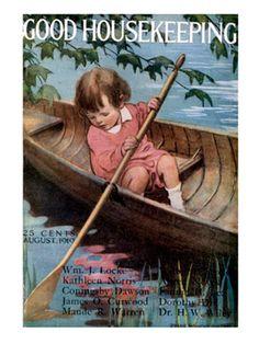 Old Magazine Covers - 1910s Vintage Magazine Art - Good Housekeeping#slide-30#slide-31#slide-31
