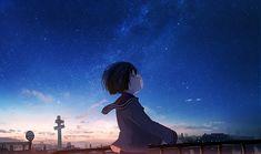 e-shuushuu kawaii and moe anime image board Anime Scenery Wallpaper, Wallpaper Backgrounds, Wallpapers, Anime Galaxy, Moe Anime, Environmental Art, Cute Anime Character, Anime Art Girl, Images