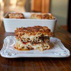 Gluten Free Mom :: Gluten Free Baked Ziti  A new favorite family meal.