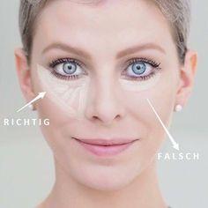 Profi-Tipp für Grindiering unter den Augen mit Concealer