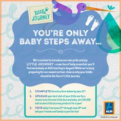 Win $30,000 cash for your baby's cutest photo from ALDI USA! (10 Winners)