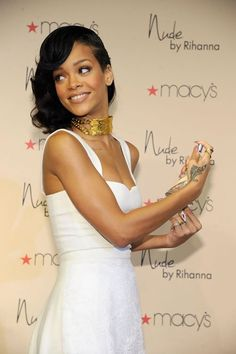 Rihanna at Macy's Westfield Century City (December 1).