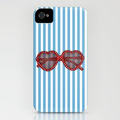 Sunglasses - iPhone case by jadeboylan - http://society6.com/jadeboylan/Summer-Sunglasses_iPhone-Case