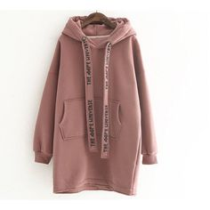 New Women girl Fashion Korean Winter Fall Top Sweater Coat Hood Wide Rope korean fashion Fashion Job, Girl Fashion, Winter Fashion, Fashion Outfits, Womens Fashion, Fashion Ideas, Fashion Styles, Cheap Fashion, Fashion Photo