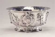Bowl  1744-45  Paul de Lamerie (1688–1751, active 1712–51)  English (London)  silver