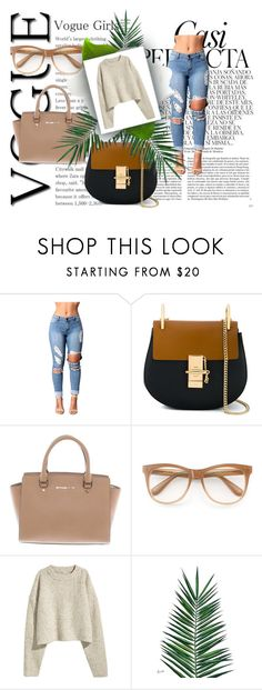 """""""Micheal"""" by almir-djulo ❤ liked on Polyvore featuring Whiteley, Chloé, Michael Kors, Wildfox and Nika"""