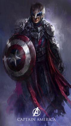 ¿Y si los Vengadores vivieran en los Siete Reinos de Poniente, o en otro mundo de fantasía oscura? Estas ilustraciones nos lo muestran.