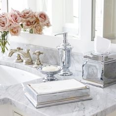 Inspired by a vintage mint julep cup that we thought was much too pretty for a once-a-year indulgence, our Maison Countertop Collection brings that elegance into the bath. Impeccably crafted of solid brass with intricate beading and classic banding Bathroom Staging, Rental Bathroom, Bathroom Curtains, Bathroom Renovations, Bathroom Interior, Bathroom Accessories Luxury, Bathroom Accesories, Walk In Shower Designs, Small Bathroom