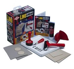 Lino Cutting & Printing Kit - London Graphic Centre - Block Printing Sets