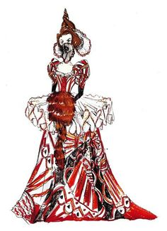 the red queen dress-colleen atwood