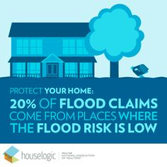 Prep for extreme weather - even if you think you're not in danger. Weather And Climate, Severe Weather, Extreme Weather, Climate Change, Flood Prevention, Flood Warning, Severe Storms, Flood Risk, Protecting Your Home