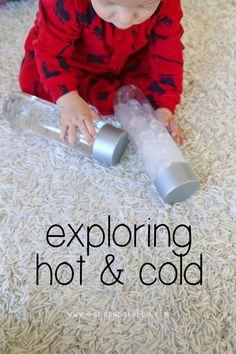 {Baby Play} Exploring Hot and Cold   Mama.Papa.Bubba.