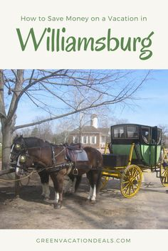 3a13c3450d6 Discounted Price for Williamsburg Virginia Vacation