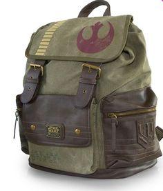 Loungefly x Star Wars: Rogue One Alliance Starbird Backpack - Star Wars - Brands Star Wars Rucksack, Star Wars Schmuck, Nerd Merch, Star Wars Outfits, Star Wars Clothes, Star Wars Jewelry, Disney Handbags, Star Wars Pictures, Fandom Fashion