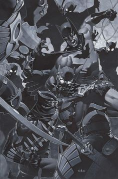 Batman vs. Talon by Chris Stevens *