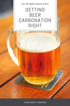 omething that I think that is often overlooked when it comes to packaging or bottling beer is the carbonation (or the level of fizz).The level of carbonation can contribute to the beer in a variety of ways. It affects the level of perceived body in the be Brewing Recipes, Homebrew Recipes, Beer Recipes, Make Beer At Home, How To Make Beer, Homemade Alcohol, Homemade Wine, Beer Glassware, Pint Of Beer