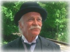 I didn't grow up with a grandpa and if I could choose anyone to be my g-pa, it would be Matthew from Anne of Green Gables!