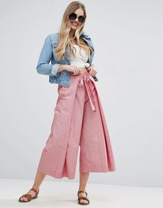 Rosa Culottes - ASOS Discover Fashion Online