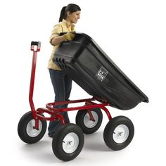 Ursa Turf Wagon with Pneumatic Tires