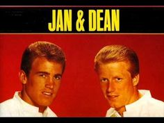 From the guys who pioneered the vocal surf music sound (yea, they hit before The Beach Boys), here's Jan & Dean singing - Linda from 1963. Linda came out the same time as their famed Surf City did and for a time, got more play on the radio.