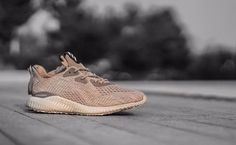 adidas Alphabounce: Biege ADIDAS Men's Shoes Running - http://amzn.to/2hw3Mi7