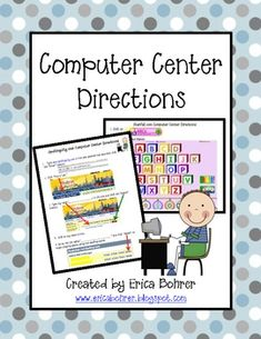 This download is for free picture directions for SpellingCity.com and Starfall.com.  I like my students to be as independent as possible while at t...