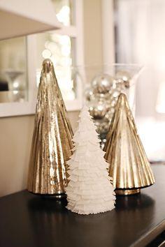 DIY Christmas Trees -so cute!