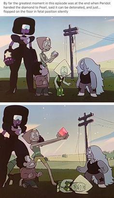 Yup, totally, Peridot Steven Universe