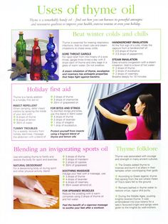 Uses of thyme oil itmakesyouhappy.com  beachbodycoach.com/itmakesyouhappy  shakeology.com/itmakesyouhappy #getinfected ☮