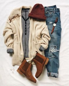 School outfit ideas for daily looks casual outfits - Casual Outfit Cute Fall Outfits, Casual Winter Outfits, Trendy Outfits, Girl Outfits, Fashion Outfits, Fasion, Party Outfits, Spring Outfits, Fashion Trends