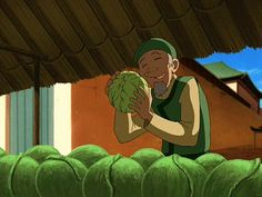 the perks of being a greengocer part 2 * poor greengrocer man * ATLA