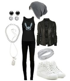 B.A.P inspired outfit! Love :D Though I would probably wear black combat boots instead.