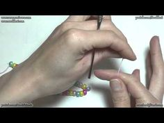 Beaded Crochet Rope Tutorial: How to make a crochet rope with beads   Beading Tutorial