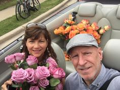 Thanks to my handsome and talented chauffeur, Russ Fowler!