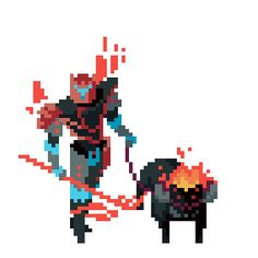 Here is Rivan the Tamer, one of the bosses you will challenge in the upcoming game Hyper Light Drifter. If you aren't already fallen i...
