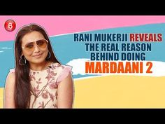 Rani Mukerji, who is gearing up for the release of her upcoming film Mardaani reveals the real reason behind taking up this project. Rani Mukerji, Upcoming Films, Bubble, Bollywood, Youtube, Movie Posters, Movies, Film Poster, Films