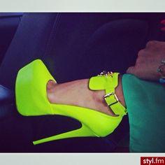 Sexy Neon Heel